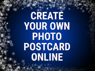 Create your own photo post card online for free